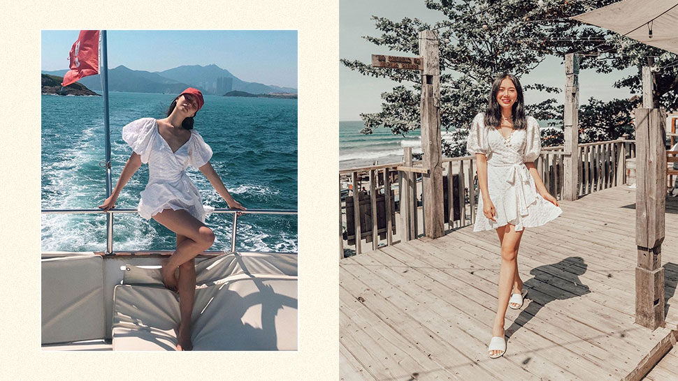 We Found The Exact White Dress Camille Co And Jess Wilson Both Wore