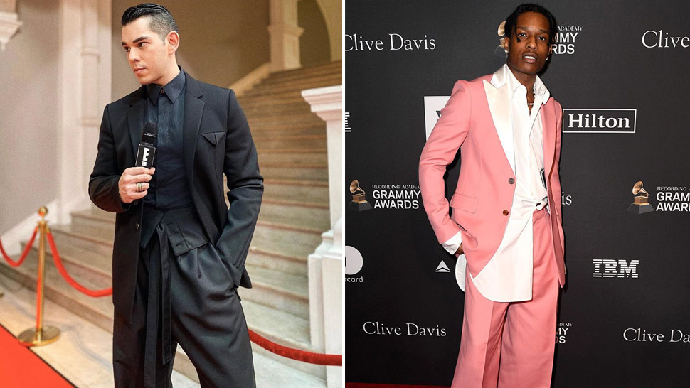 Let These Stylish Men Show You How To Pull Off An Oversized Suit