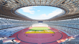 Tokyo's New Stadium Is Full Of Green Pockets And