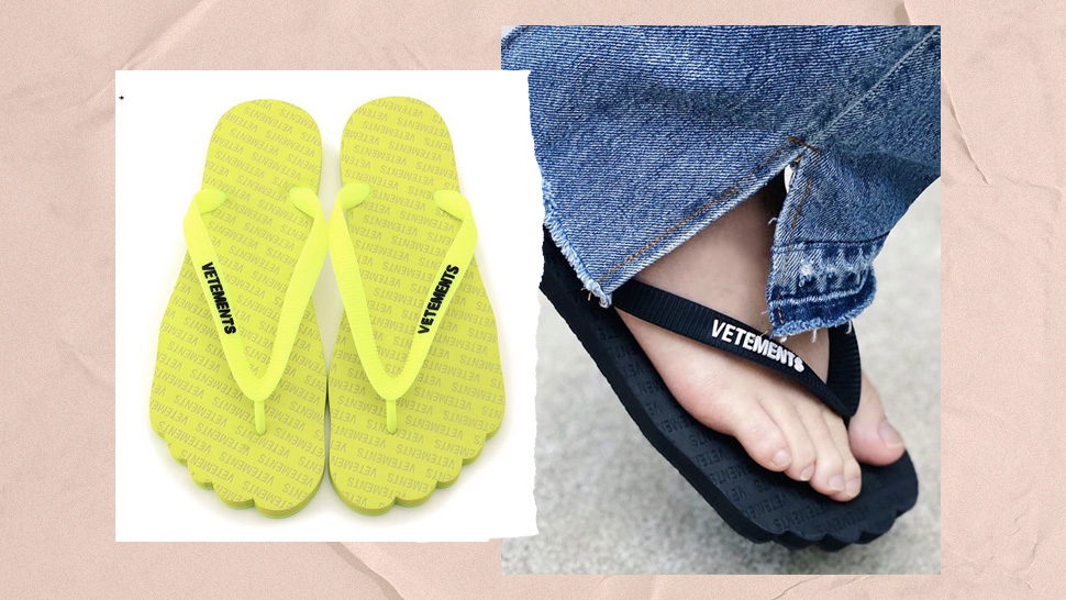 Would You Buy These Vetements Flip-Flops for P15,000?