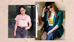 We Found The Exact Designer White T-shirts Jinkee Pacquiao Has