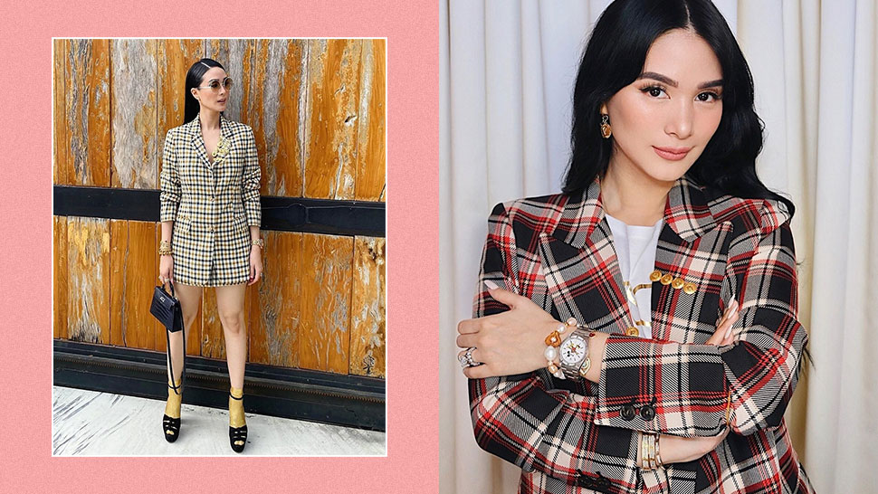 We Found The Exact Skirt Suit Sets Heart Evangelista Has