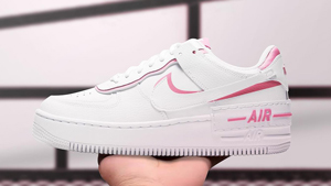 Nike's Air Force 1 Sneakers Just Got A Chic Pink Makeover