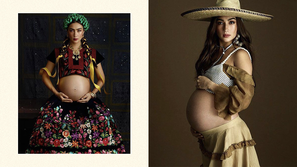 You Have To See Solenn Heussaff's Vibrant Pregnancy Shoot