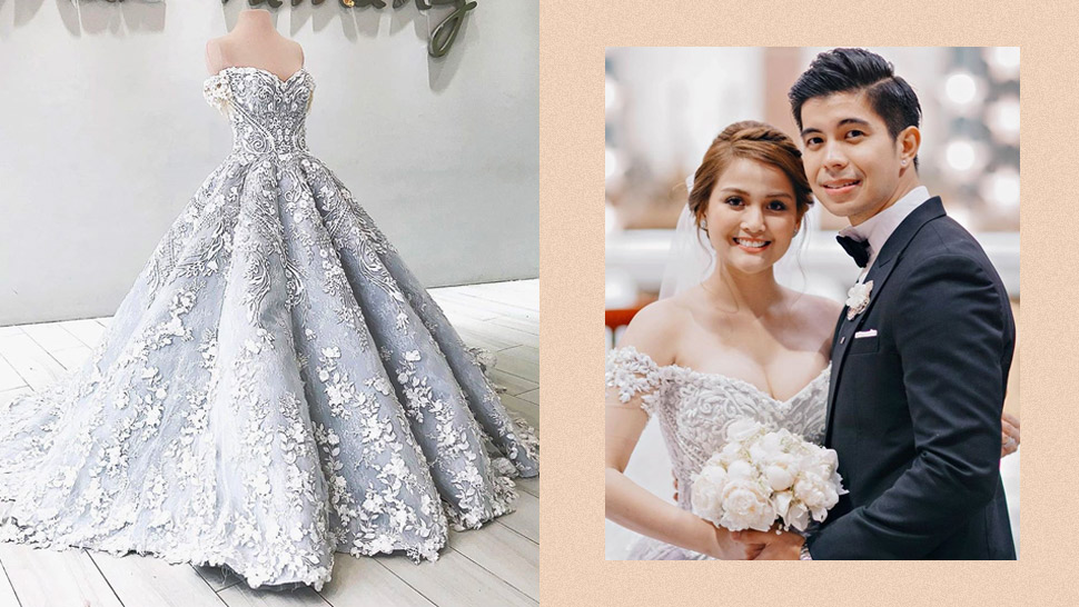 Here's A Closer Look At Dianne Medina's Fairytale-worthy Wedding Dress
