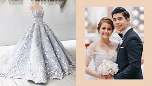 Here's A Closer Look At Dianne Medina's Fairytale-worthy Wedding Dress