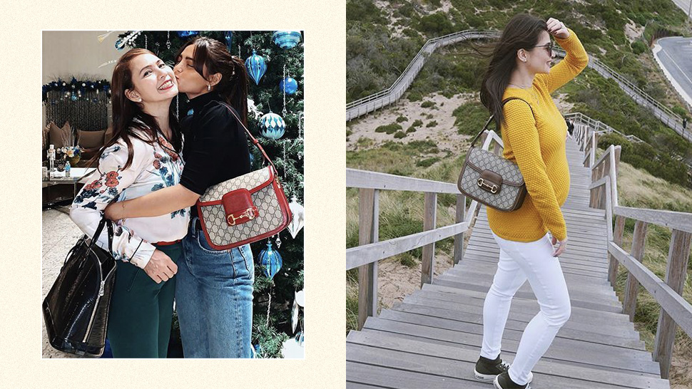 This Is The Exact Gucci Bag Anne Curtis And Lovi Poe Both Love