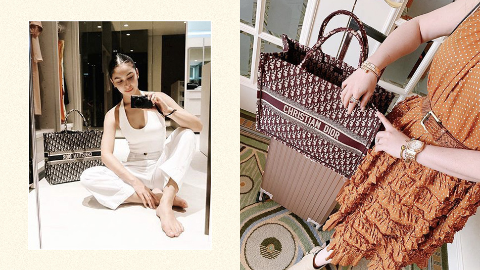 These Stylish Girls Will Make You Want To Buy A Dior Book Tote