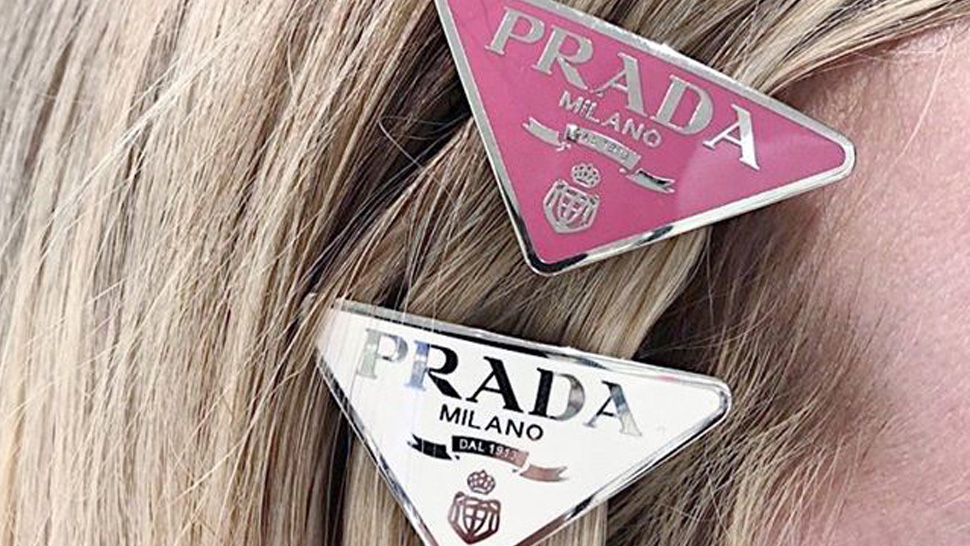 Would You Buy This Prada Logo Hair Clip For P12,000?