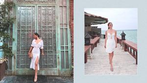How To Wear A White Dress Like A Celebrity