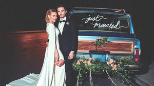 Hilary Duff Reveals The Cool, Secret Detail Of Her Modern-day Wedding Dress