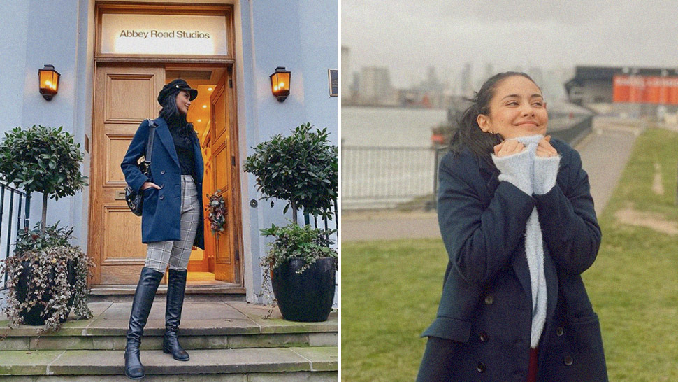 Megan Young's London Ootds Will Teach You How To Dress For Cold Weather