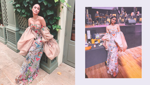 We Found The Exact Floral Gown Heart Evangelista And Megan Young Have