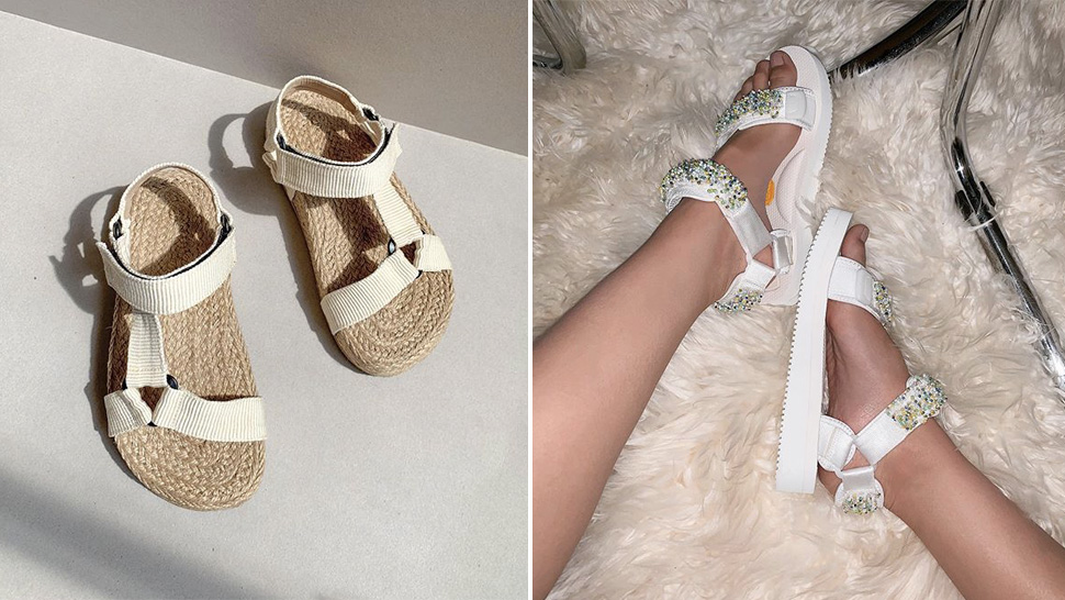 8 Cool Pairs Of Velcro Sandals To Help Get You Into The Trend