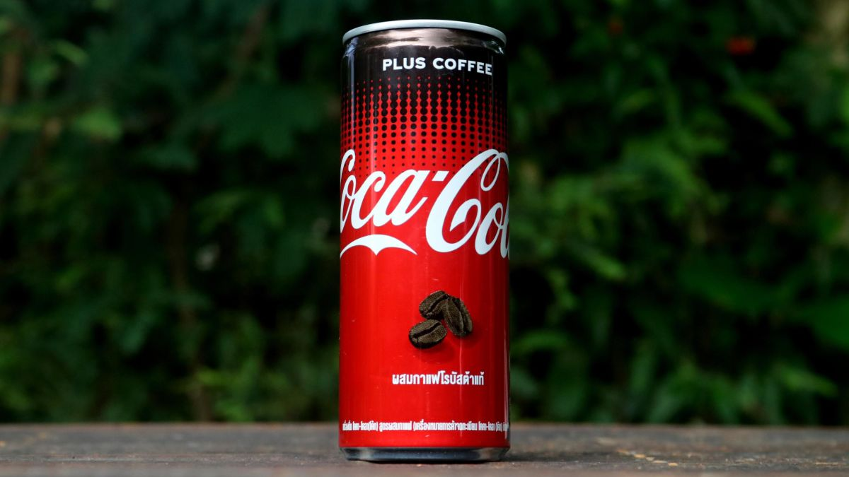 Would You Try This Mixed Coca-cola And Coffee Drink?