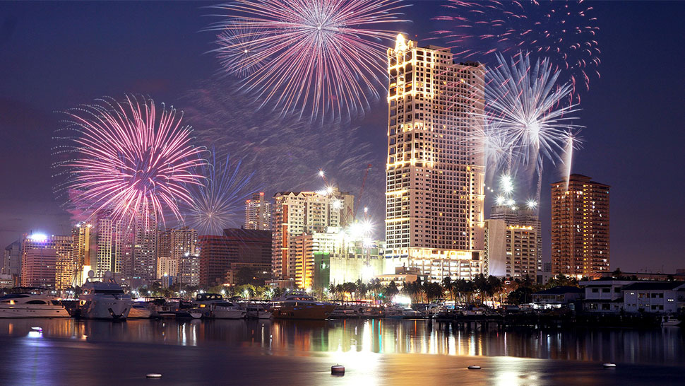 Manila Is One Of The 10 Most Popular Asian Cities To Welcome The New Year In