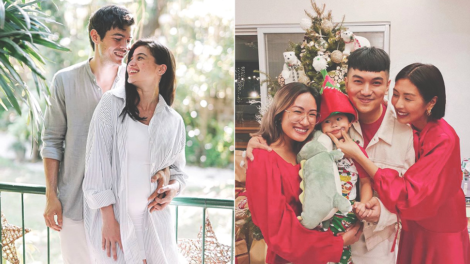 The Best Celebrity Christmas Family Portraits We Spotted This Year