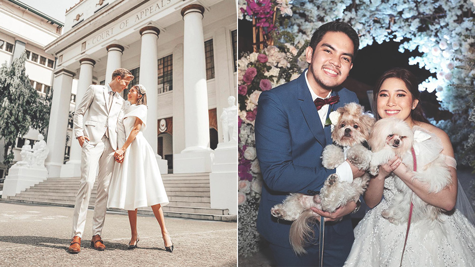5 Filipino Celebrity Weddings We Loved In 2019