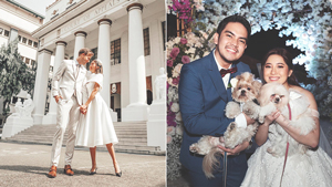 5 Filipino Celebrity Weddings We Loved In 2019