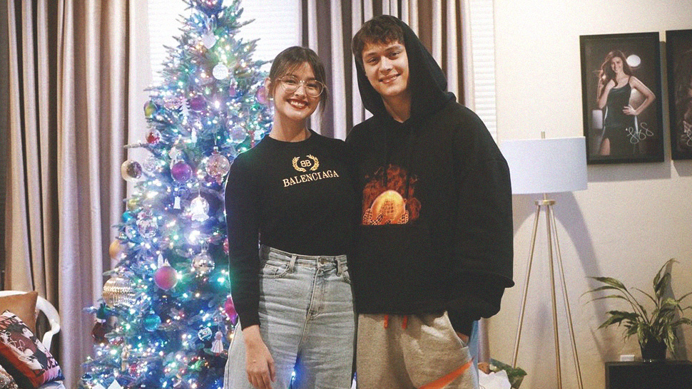 Liza Soberano's Balenciaga Sweater Is The Sweater To End All Christmas Sweaters