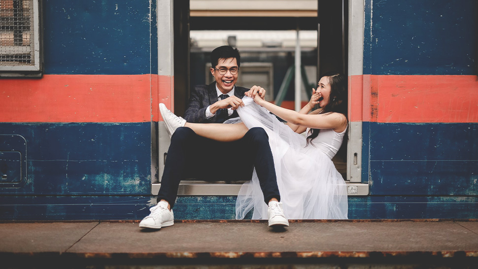 This Couple's Prenup Shoot At The Pnr Looks Like It Came Straight Out Of A Movie