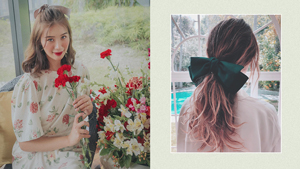 All The Cute Beribboned Hairstyles To Try This Holiday Season