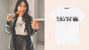 These Are The Exact Designer White T-shirts Heart Evangelista Has