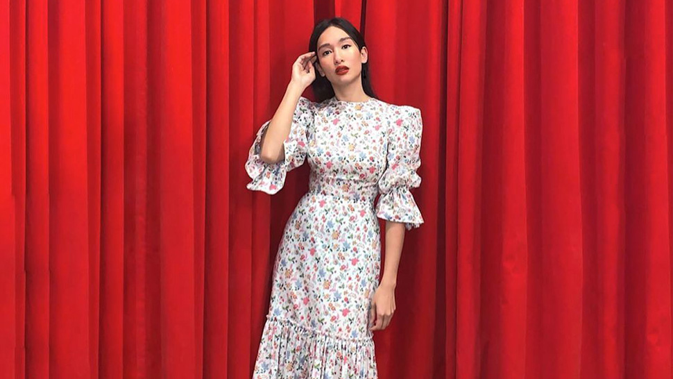 This Is the Exact Romantic Floral Dress Bea Soriano-Dee Recently Wore