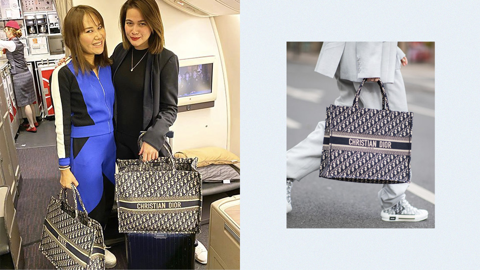This Is The Exact Dior Tote Bea Alonzo And Dr. Aivee Teo Both Love For Travel
