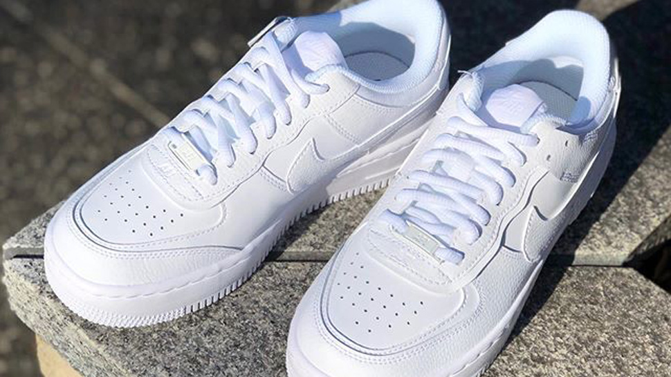 You Can Get Up To 60% Off On White Sneakers At Nike Factory Store