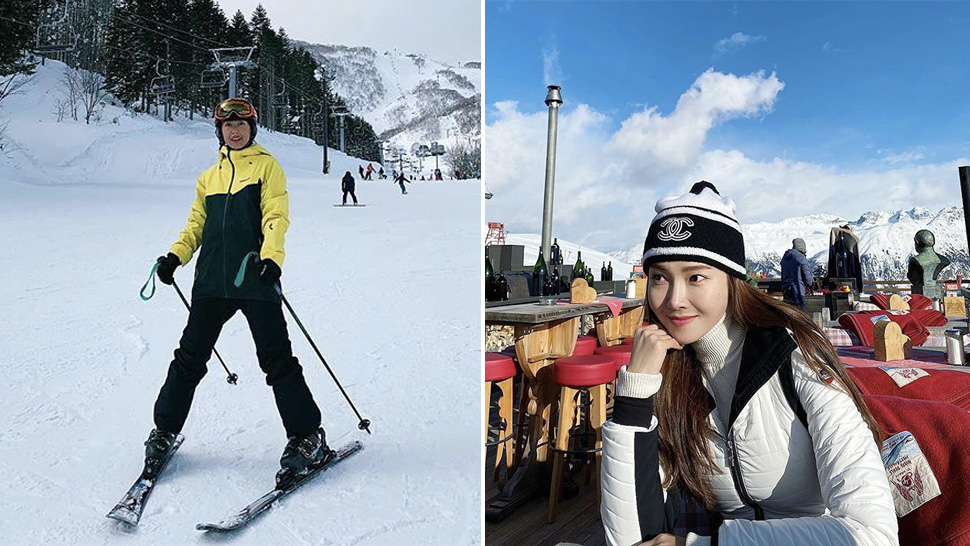 Here's How the Celebrities Dress Up for a Glam Ski Vacation