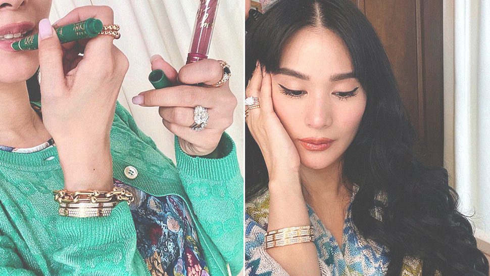 These Are The Exact Luxury Bracelets Heart Evangelista Always Wears
