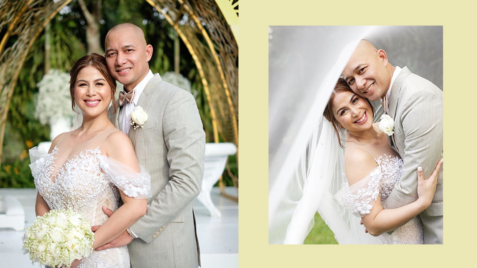 Valerie Concepcion Just Tied The Knot In An Intimate Garden Wedding