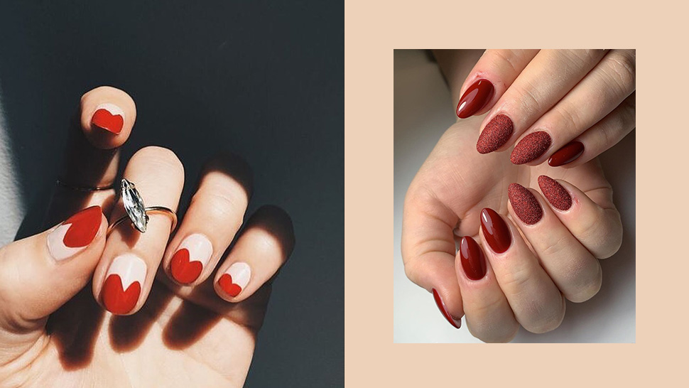 10 Unique Red Nail Polish Ideas For A Bold New Year Look
