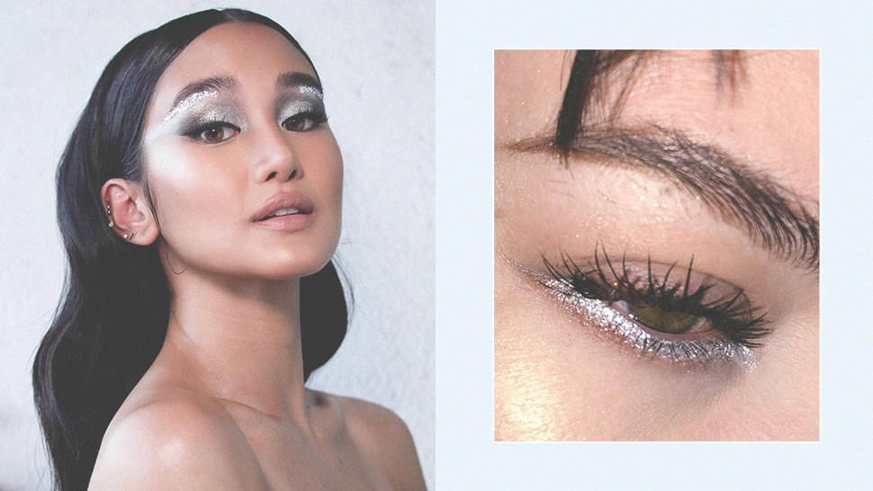 All the Fun Ways to Add Silver to Your Makeup Looks