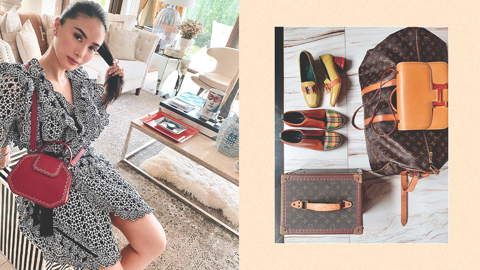 Heart Evangelista Has a Clever Trick When Shopping for Designer Items