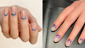 10 Classic Blue Manicure Ideas To Try In 2020