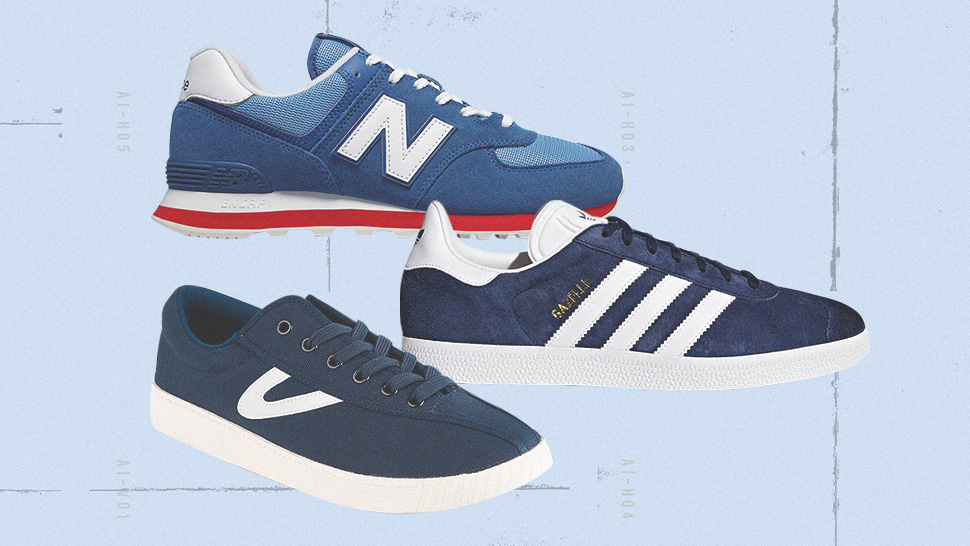 "10 ""classic Blue"" Sneakers To Match Pantone's Color Of The Year"