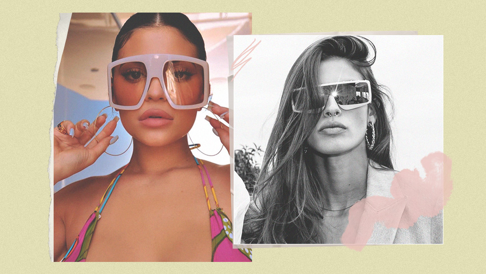 Move Over, Micro Sunnies—The Shield Sunglasses Trend Is Taking Over!