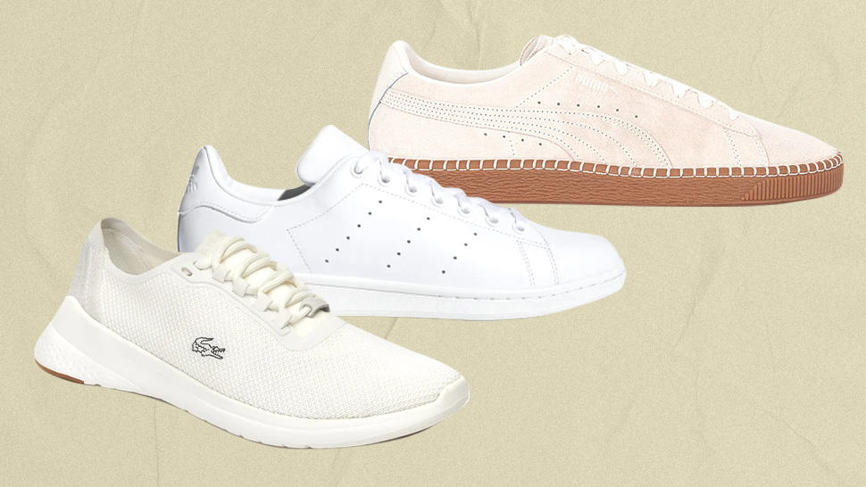 5 Minimalist Sneakers You Can Wear With Dresses