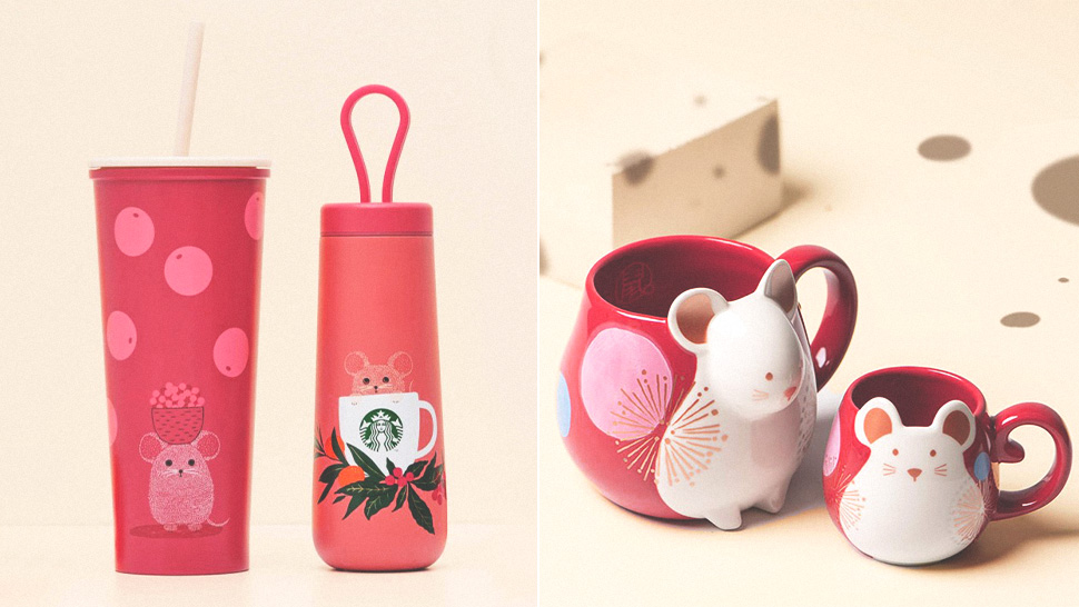 Starbucks' Year of the Rat Collection Is Here and It's Too Cute for Words