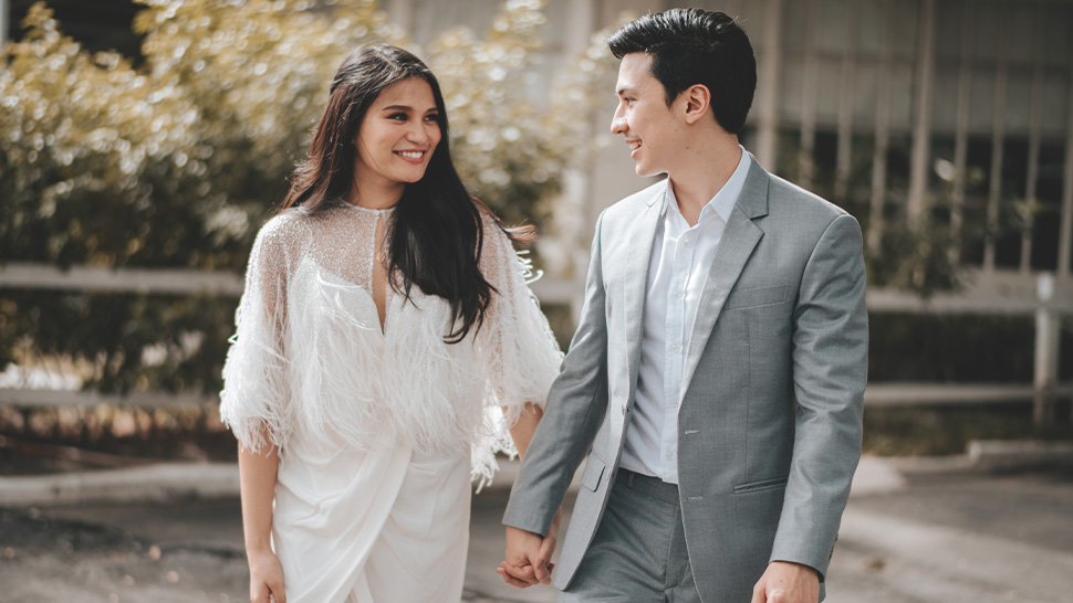 Ava Daza And Luch Zanirato Tie The Knot In A Chic Yet Simple Civil Wedding