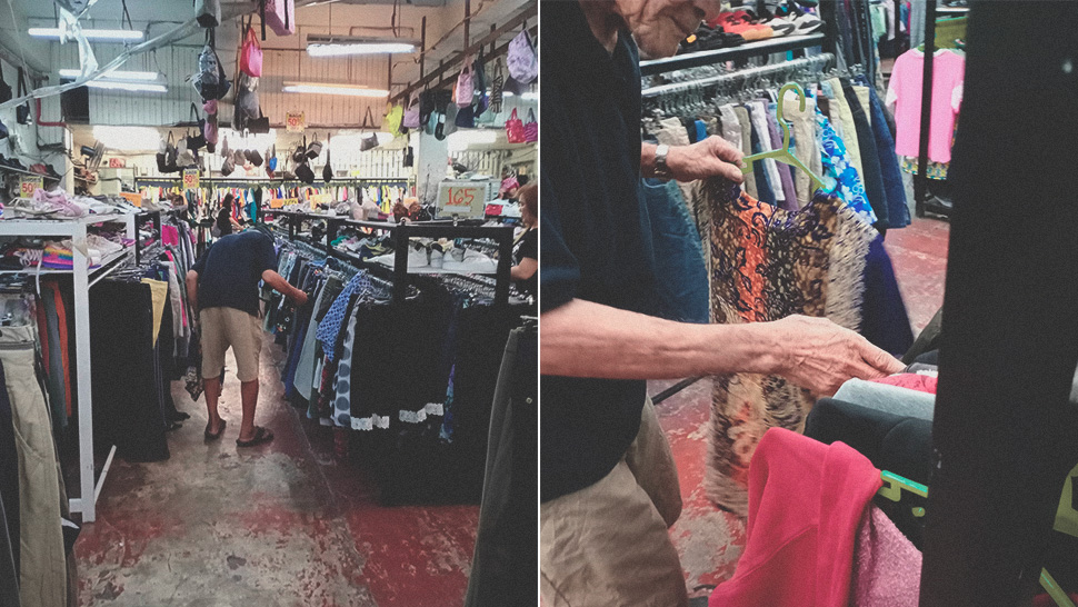 This Old Man Shopping at the Ukay-Ukay for His Wife Is Going Viral