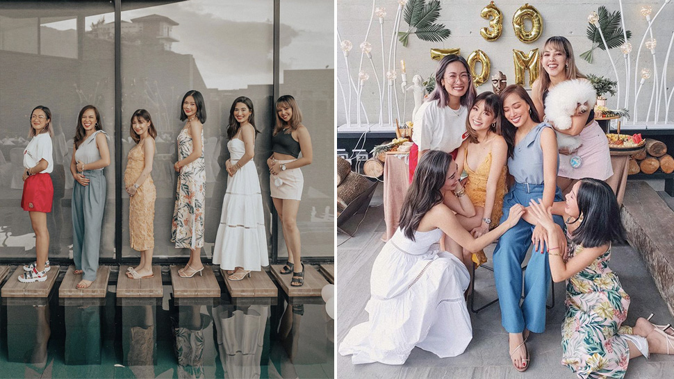The #BloggerBesties Reunited for Kryz Uy's Birthday and Gender Reveal Party