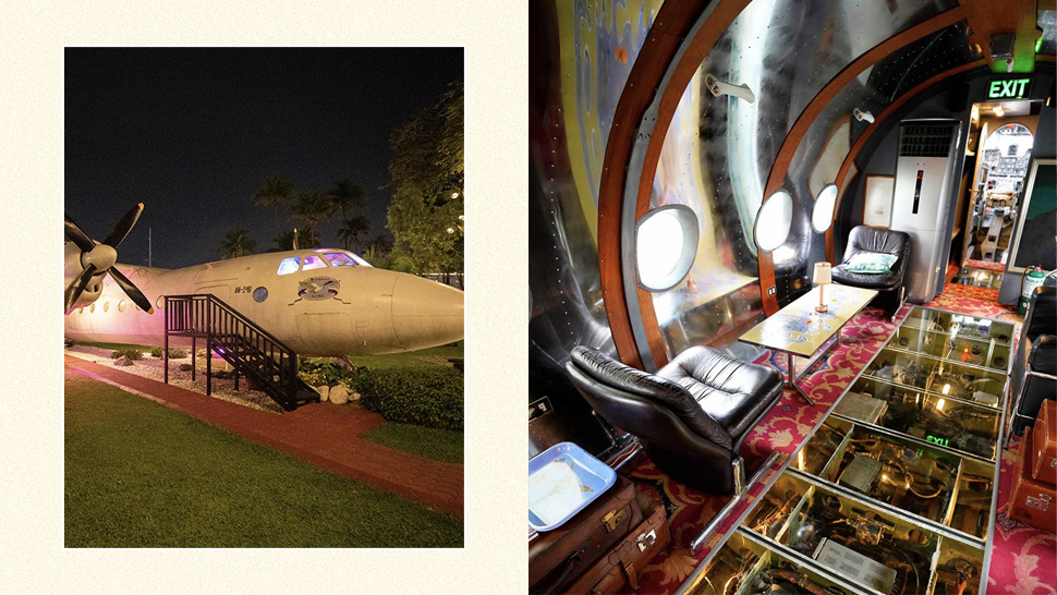You Can Party On This Swanky Retired Airplane For P25,000