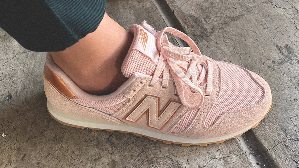 We're Obsessed with These Vintage-Inspired Rose Gold Sneakers
