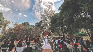 You Might Want To Reschedule If You're Getting Married In Tagaytay Anytime Soon