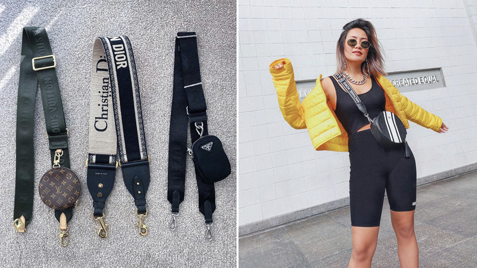 This Is The Bag Strap Trend All Stylish Girls Seem To Love Right Now
