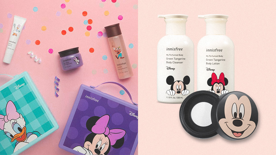 Innisfree's Mickey Mouse Collection Is the Best Gift for Chinese New Year