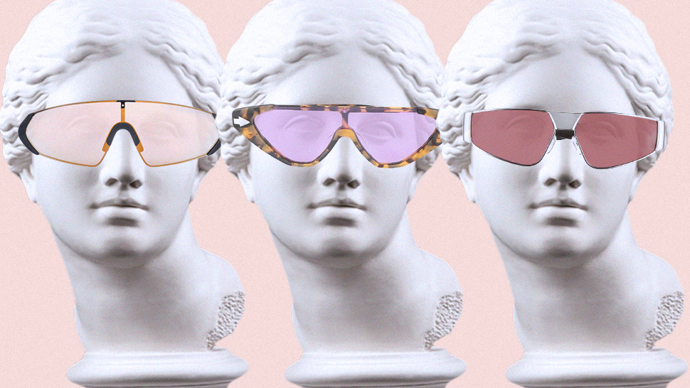 These Cool Pairs Will Make You Want to Embrace the Shield Sunglasses Trend